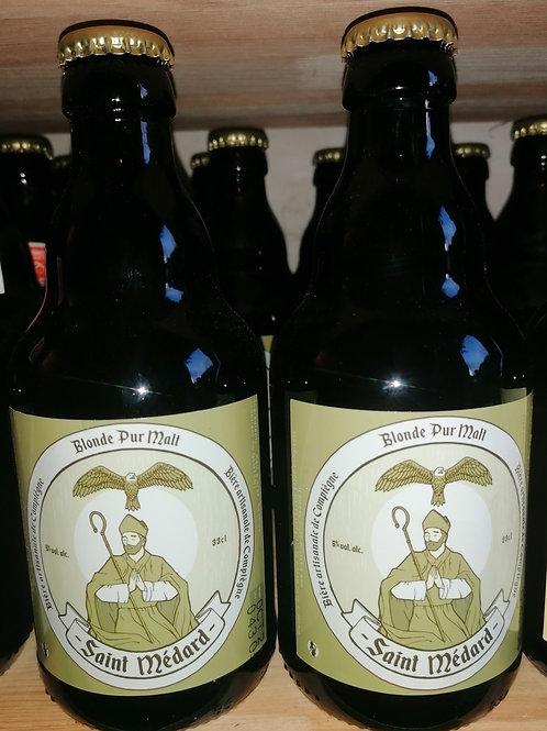 Bière pur malt Saint Médard 33 cl