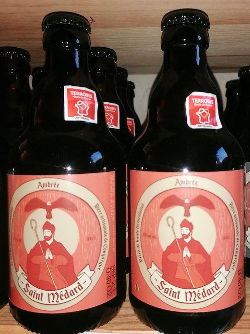 Bière ambrée Saint Médard 33 cl