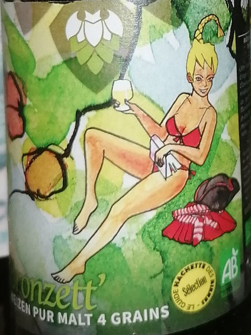 Bière blonde Bronzett de la Petite Brasserie Picard 33cl
