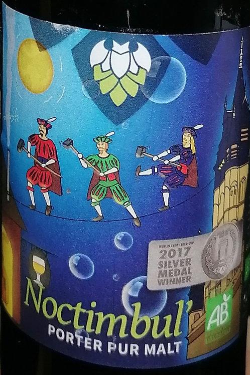 Bière brune Noctimbule de la Petite Brasserie Picarde 33cl