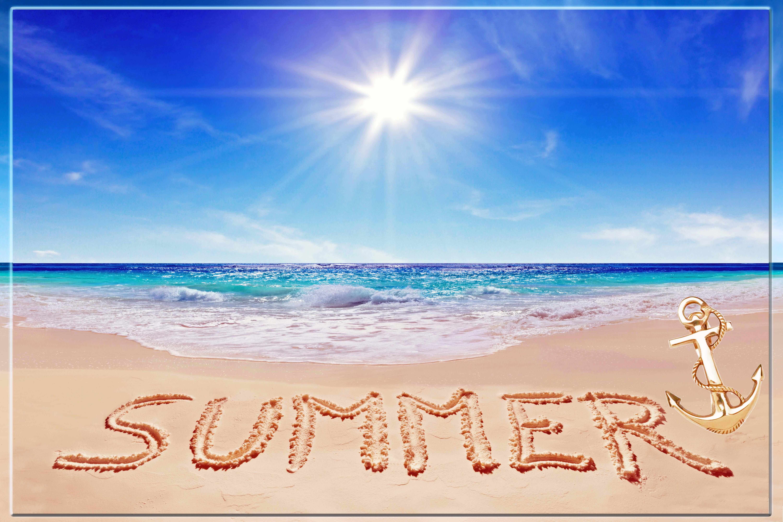 summer  border