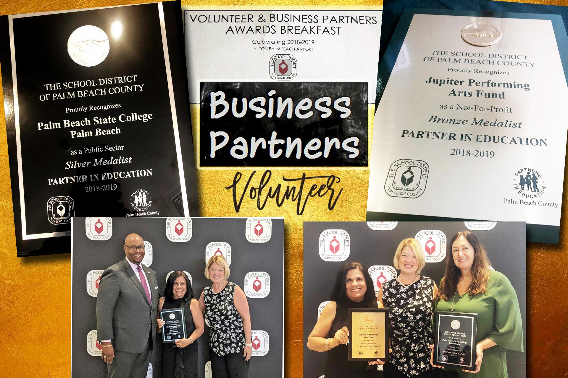 Business Partner Win Awards!