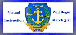 Virtual Instruction begins March 31.