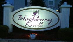 1 - BLACKBERRY KNOLL SIGN