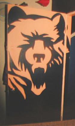 1 - BEAR DOOR