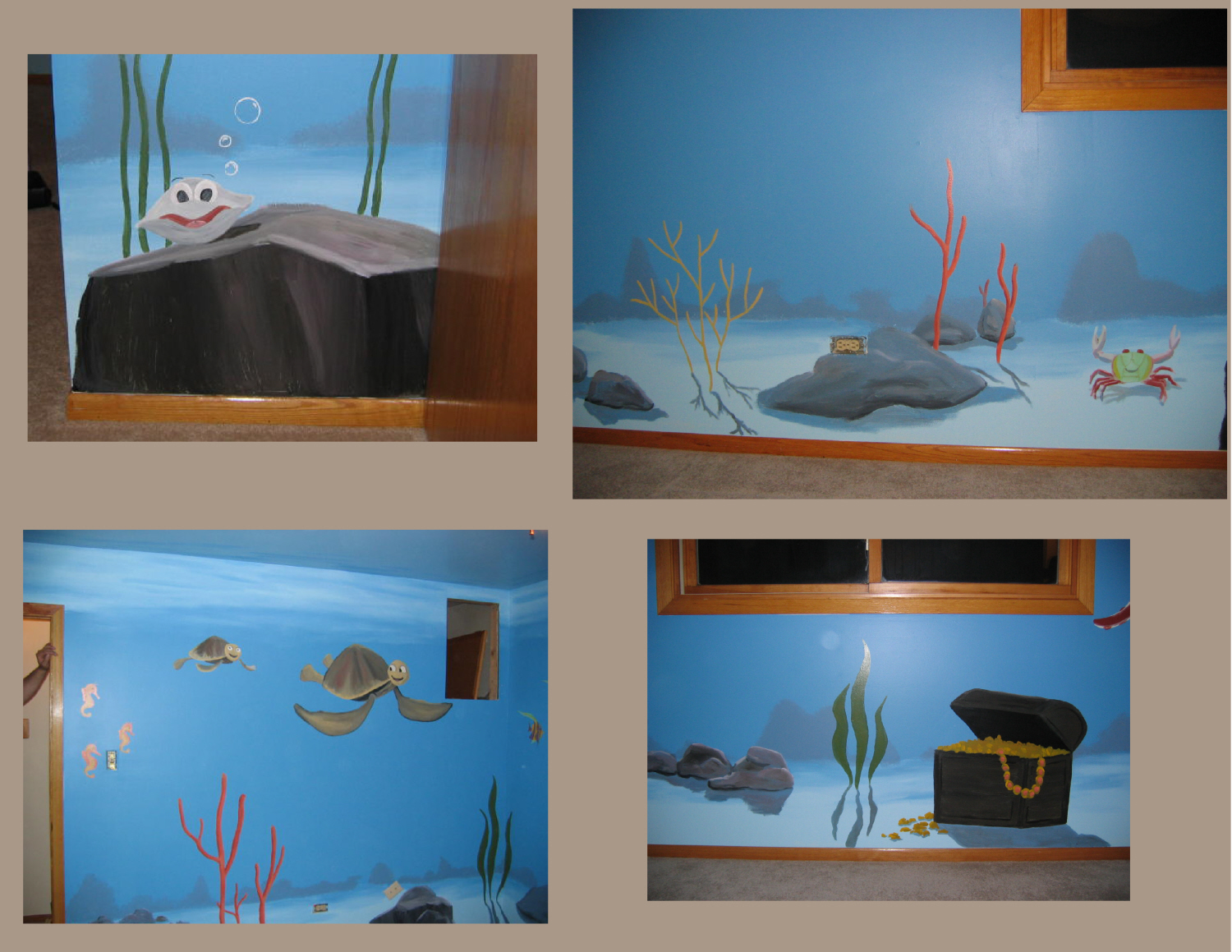 1 - UNDERSEA NURSERY ELEMENTS