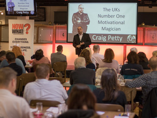 Learn To Say 'YES' or how I went from never speaking to Keynoting at The Business Show in le