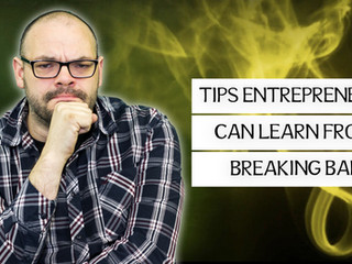 What an entrepreneur can learn from watching Breaking Bad