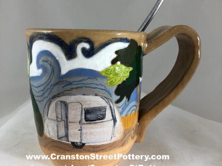 Two Campers Mug/Retro Campers Mug/Great Outdoors Mug/Favorite Mug