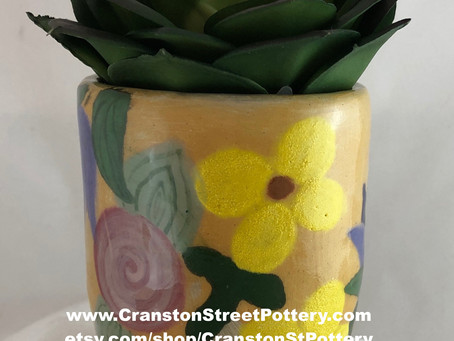 Yellow Flower Tumbler #2