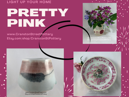 Pretty Pink!  Light Up Your Home