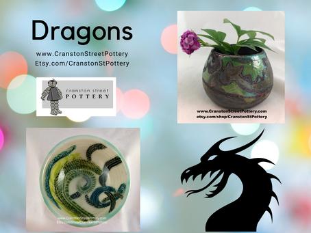 Dragons-Dragon Bowls-Green Dragon Bowls