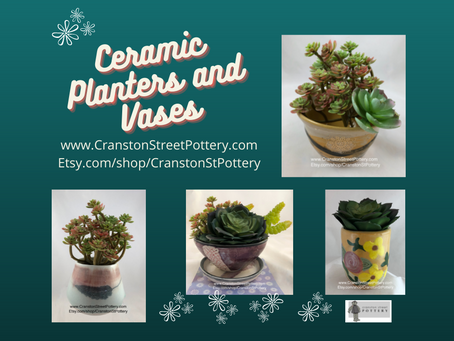 Ceramic Planters and Vases-Indoor Planters-Love Your Plants-Planters with Drainage Holes