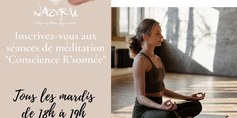 """Séance de méditation collective : Conscience R'sonnée"""""""