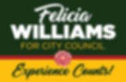 Campaign Logo - Fellicia Williams - FINA