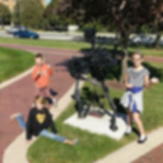 Players hunt for supplies in the South Bend Zombie Scavengers