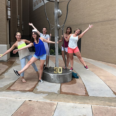 Players hunt for items in the Dallas scavenger hunt tour with Wacky Walks