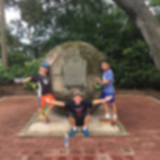 Players hunt for supplies in the St. Augustine Zombie Scavengers