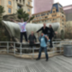 Players hunt for items in the Atlantic City scavenger hunt tour with Operation City Quest