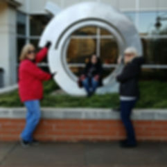Players hunt for items in the Evansville scavenger hunt tour with 3Quest Challenge