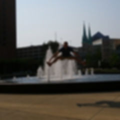 Players participate in crazy challenges during their Indianapolis Crazy Dash!