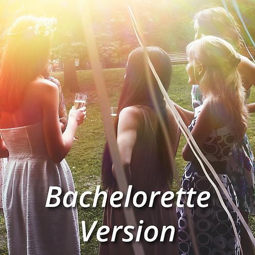 Convert your Ticket/Voucher into a Bachelorette Package Ticket