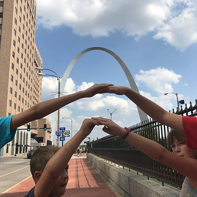 Players hunt for items in the St. Louis scavenger hunt tour with Wacky Walks