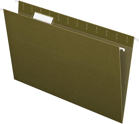 Recycled hanging folder
