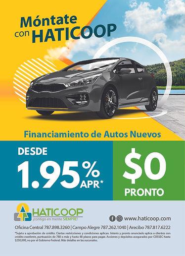 FINANCIAMIENTO AUTOS NUEVOS (JUNIO 2021)