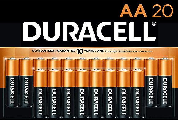 Baterías AA