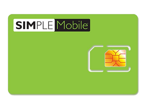Simple Mobile Plan de Activación de $30
