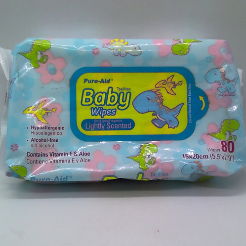 BABY WIPES AZUL 80CT