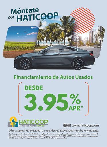 FINANCIAMIENTO AUTOS USADOS (JUNIO 2021)