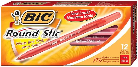 Bolígrafos Rojos