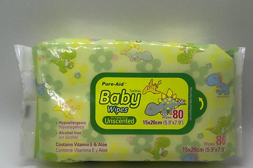 BABY WIPES VERDE 80CT