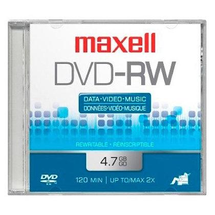 DVD-RW - (1pcs)