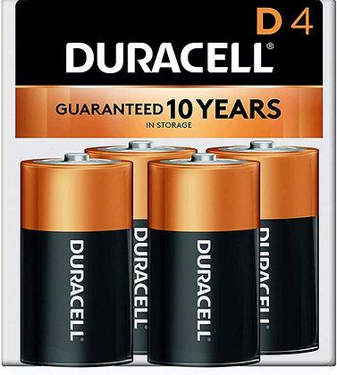 Baterías D