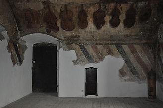 Castel Toblino sala della musica