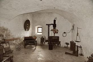 Castel Toblino sala del torchio