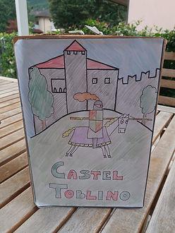 Castel Toblino bambin