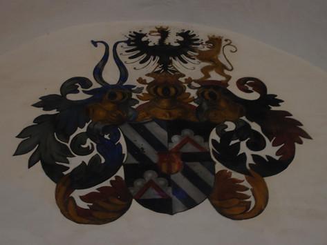 Castel Toblino e stemma Wolkenstein