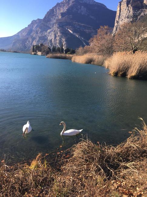 Castel Toblino e lago di Toblino
