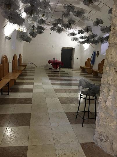 Castel Toblino sala eventi scuderie