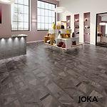 UNSER ANGEBOT Designboden 555 5456 Dark Tetris Wood – Pro m² 59,50 €