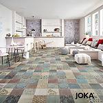 UNSER ANGEBOT Designboden 5458 mixed Ornament mit einer 0,55 mm Nutzschicht –  pro m² 59,50€