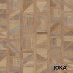 UNSER ANGEBOT Designboden 5457 Brown Tetris Wood mit einer 0,55 mm Nutzschicht – Pro m² 59,50€