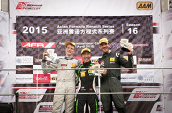 2nd in Round 3 AFR 2015, Sepang