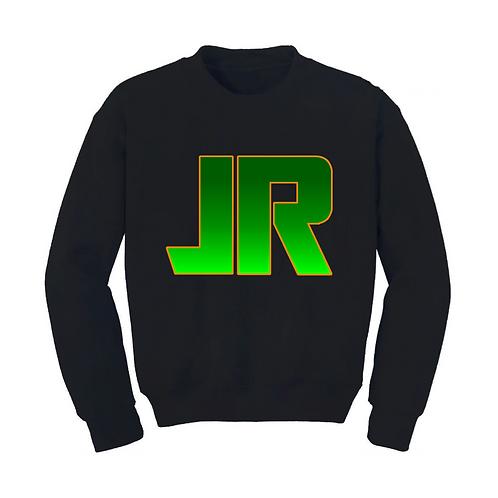 J.RUNACRES Sweatshirt - Green/Orange Logo