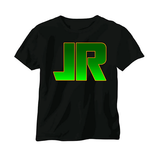 J.RUNACRES T-shirt - Green/Orange Logo