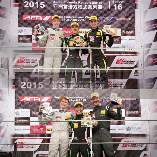 Sepang, Double podium!
